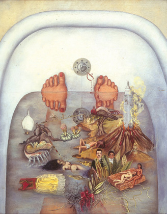 What_the_Water_Gave_Me_by_Frida_Kahlo